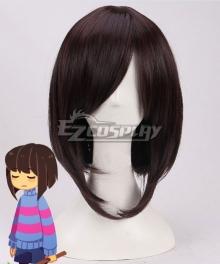 Undertale Frisk Brown Cosplay Wig