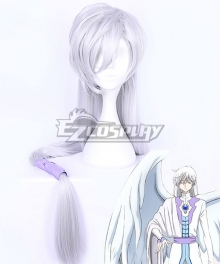 Cardcaptor Sakura: Clear Card Yue Light Silver Purple Cosplay Wig