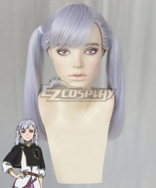 Black Clover Noelle Silva Light Purple Cosplay Wig