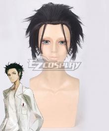 Steins;Gate Steins Gate Zero Rintaro Okabe Black Cosplay Wig