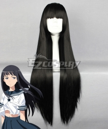 Toaru Majutsu No Index Himegami Aisa Black Cosplay Wig