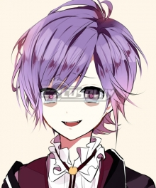 DIABOLIK LOVERS Sakamaki Kanato Purple Cosplay Wig