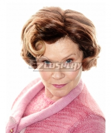 Harry Potter Umbridge Brown Cosplay Wig