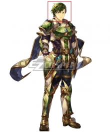 Fire Emblem Heroes The Panther Abel Green Cosplay Wig