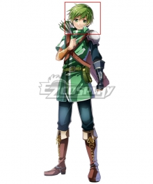 Fire Emblem Altean Archer Gordin Green Cosplay Wig