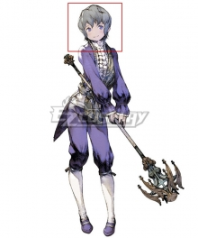 NieR Re[in]carnation Reincarnation Emil Gray Cosplay Wig
