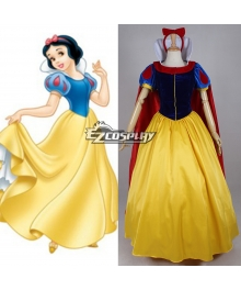 Disney Snow White Princess Cosplay Costume