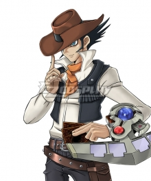 Yu-Gi-Oh! GX Jim Crocodile Cook Cosplay Costume