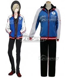Yuri on Ice YURI!!!on ICE Plisetsky Yuri Sportswear Suit Outfit Cosplay Costume - A Edition