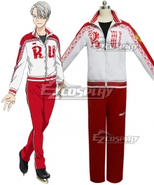 Yuri on Ice YURI!!!on ICE Victor Nikiforov  Sportswear Suit Outfit Cosplay Costume