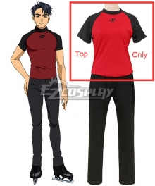 Yuri on Ice YURI!!!on ICE Jean Jacques Leroy Jean Jack LEROY Sportswear Shirt Only Cosplay Costume