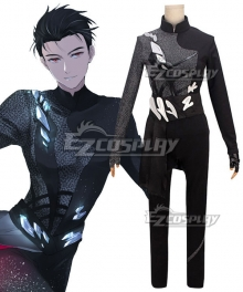 Yuri on Ice YURI!!!on ICE Katsuki Yuuri Cosplay Costume - A Edition