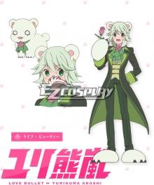 Yuri Kuma Arashi Love Bullet Yuri Kuma Arashi Life Beauty Raifu Byuti Bear Cosplay Costume