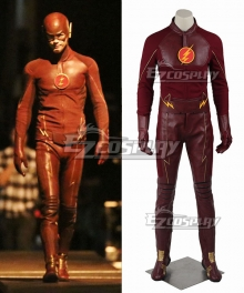 DC The Flash Season 1 Bartholomew Henry Barry Allen Cosplay Costume