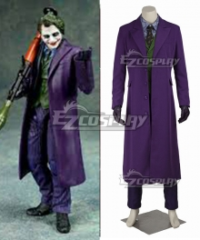 DC Batman The Dark Knight The Joker Full Suit Cosplay Costume