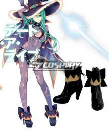 Date A Live Natsumi Witch Cosplay Shoes