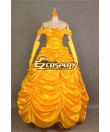 Beauty and the Beast Belle Evening Gown Dress Cosplay Costume