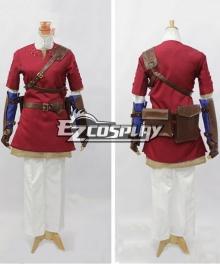 The Legend of Zelda Twilight Princess Red Link Cosplay Costume