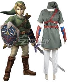 The Legend of Zelda Twilight Princess Link Cosplay Costume