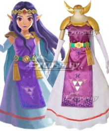 The Legend of Zelda Princess Zelda Cosplay Costume - B Edition