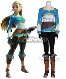 The Legend of Zelda: Breath of the Wild Princess Zelda Cosplay Costume - New Edition