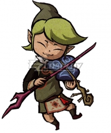 The Legend of Zelda: The Wind Waker Fado Cosplay Costume