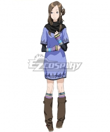 Zero Escape: The Nonary Games June Kanny Akane Kurashiki Cosplay Costume