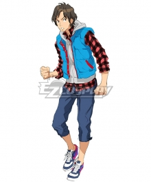 Zero Escape: The Nonary Games Junpei Tenmyouji Cosplay Costume