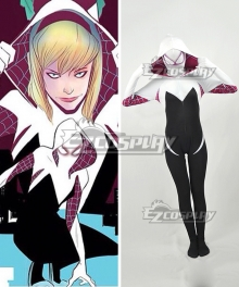 Marvel Spider Gwen Zentai Cosplay Costume