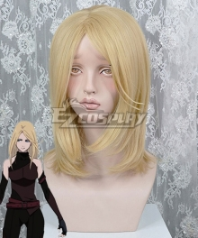Fairy gone Veronica Thorne Golden Cosplay Wig