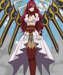 Fairy Tail Erza Scarlet Adamantine Armor Cosplay Costume
