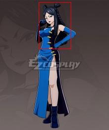 Fairy Tail Minerva Orland Black Cosplay Wig