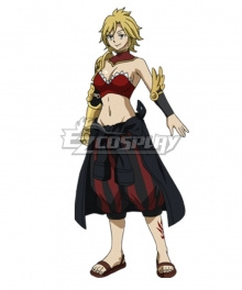 Fairy Tail Season 3 Dimaria Yesta Cosplay Costume - No Prop