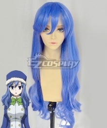Fairy Tail Season 3 Juvia Lockser Blue Cosplay Wig