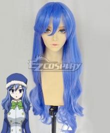 Fairy Tail Season 3 Juvia Lockser Blue Cosplay Wig