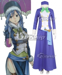 Fairy Tail Season 3 Juvia Lockser Cosplay Costume