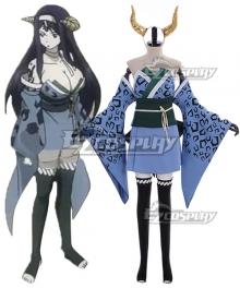 Fairy Tail Seilah Ryougetsuten Seira Cosplay Costume