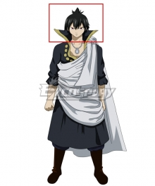 Fairy Tail The Black Wizard Zeref Dragneel Black Cosplay Wig