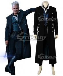 Fantastic Beasts 2: The Crimes of Grindelwald Gellert Grindelwald Cosplay Costume