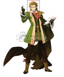 Fate Apocrypha Caster Of Red William Shakespeare Brown Cosplay Wig
