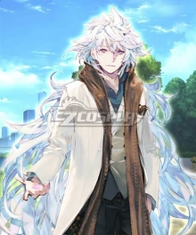 Fate Grand Order 3rd anniversary Caster Merlin Cosplay Costume