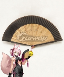 Fate Grand Order Alterego Tamamo Vitch Koyanskaya Cheongsam Fan Cosplay Accessory Prop