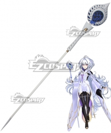 Fate Grand Order Arcade Prototype Caster Merlin Stave Cosplay Weapon Prop