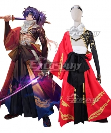 Fate Grand Order Assassin Okada Izo Cosplay Costume