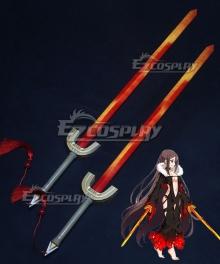 Fate Grand Order Assassin Yu Miaoyi Akuta Hinako Two Sword Cosplay Weapon Prop