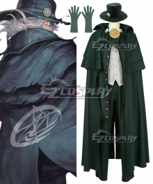 Fate Grand Order Avenger Edmond Dantes King of the Cavern Cosplay Costume