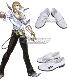 Fate Grand Order Berserker Sakata Kintoki White Cosplay Shoes