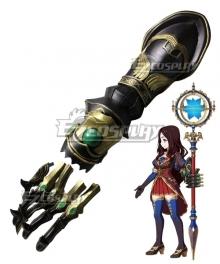 Fate Grand Order Caster Leonardo Da Vinci Gauntlets Cosplay Accessory Prop
