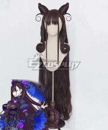 Fate Grand Order Caster Murasaki Shikibu Brown Cosplay Wig