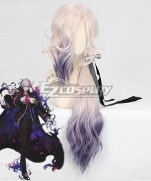 Fate Grand Order Edmond Dantes White Purple Cosplay Wig